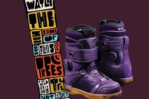 Matt Costa x Vans x Signal 合作款雪板和雪靴