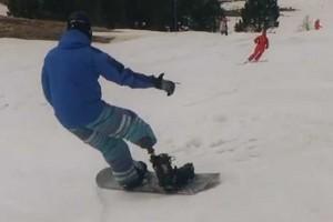 一个残疾人的滑雪梦 (采访)