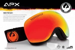 2011-2012 Dragon最新无框大球面雪镜APX评测