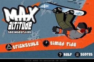 《Max Altitude Snowboarding》在线单板游戏发布