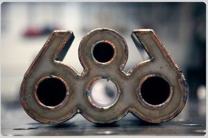 686手工打造汽车排气尾段