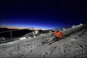 Coronet peak places的夜间滑雪被搁置