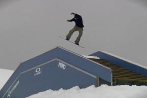 Marc Swoboda的十项滑雪特技