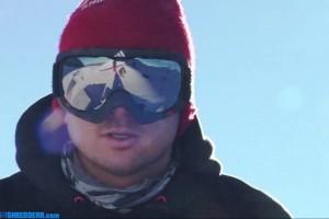 Dachstein冰川的Yugo滑雪