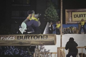 Burton Tokyo 轨道滑雪日的另一版本