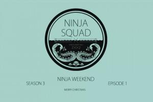 Ninja Squad的丛林障碍滑雪
