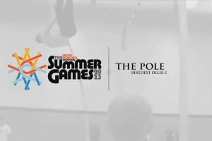 第一届夏季运动会–撑杆跳