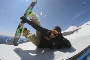 Denis Leontyev Blows Up Mt Hood