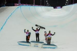 Iouri 'iPod' Podladtchikov赢得冬奥会半管滑雪金牌
