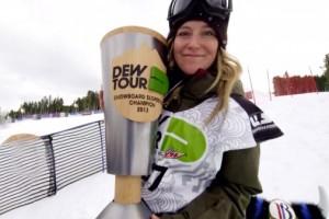 Jamie Anderson的 'Living The Dream' 第一集 – 第一位奥林匹克晋级滑手