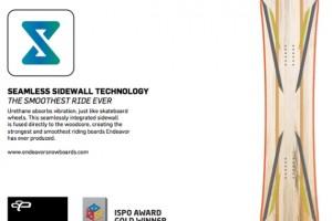 Endeavor Snowboards无缝边刃科技获得ISPO金奖
