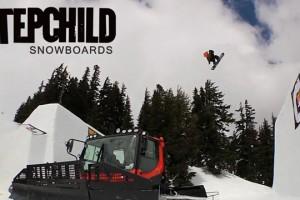 STEPCHILD SNOWBOARDS AT SUPERPARK 18