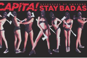 终于来啦!CAPiTA全新大电影DOA2中国首映式!就在11月1日!快来Party!