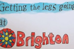 Think Thank – Getting the Legs Going at Brighton