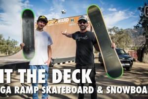 Signal ETT第31弹:Mega Ramp Snowboard & Skateboard