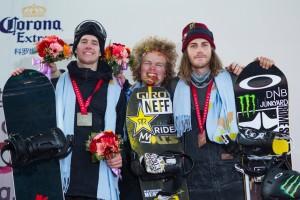 Brandon Davis和 Jamie Anderson成为Slopestyle 世界锦标赛新任冠军