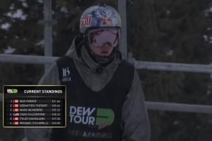 Mark McMorris获得2016 Dew Tour障碍技巧滑冠军