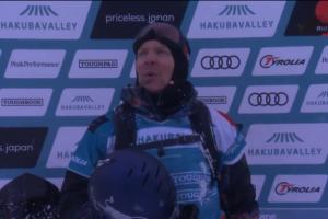 Travis Rice 在自由滑雪世界巡回赛获得96.00分– Hakuba