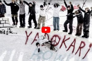 Yadokari Bowl|在雪山上造一个碗池,也有十足的街头味道!